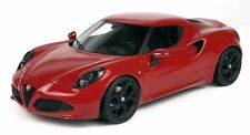 TOP MARQUES COLLECTIBLES 2013 ALFA ROMEO 4C RED/BLACK WHEELS 1:18*New Item!