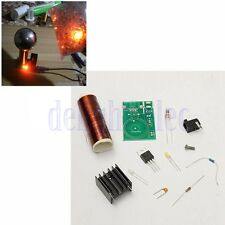 DIY Bobina di Tesla Kit Arc Wireless Electric Power Transmission Accensione DB