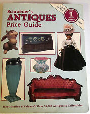 SCHROEDER'S ANTIQUES PRICE GUIDE BOOK - NINTH EDITION 1991