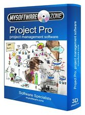 Project Management Software per MS Microsoft Windows CD