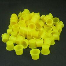 100PCS Tattoo Ink Caps Small Plastic Cups for Tattooing Hot SPUS