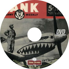 YANK ~ Military History Magazine { Army Weekly ~ 1942-1945 } on DVD