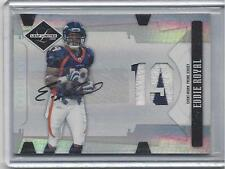 EDDIE ROYAL 2008 LEAF LIMITED PHENOM 2 COLOR NAMEPLATE PATCH AUTO RC #D 22/99