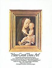 How Great Thou Art Learn PLAY Hymns Church Songs Piano Guitar PVG Music Book