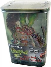 Ultra Pro Tin Man Deck Vault (Nesting) Deckbox Deck Box Metall mit Extrafach