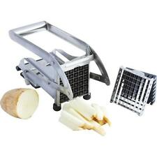 Stainless Steel French Fry Cutter Potato Vegetable Slicer Chopper Dicer