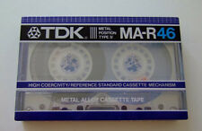 TDK MA-R46 Metal position type IV Cassette Audio Rare Neuf !