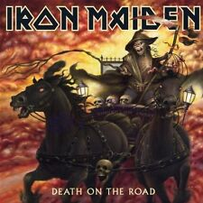"""IRON MAIDEN """"DEATH ON THE ROAD (LIVE)"""" 2 CD NEW+"""