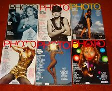 PHOTO french france magazine lot 1990-1991 madonna