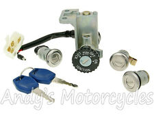 Kymco Like 50 / 125 / 150 / 200 Ignition Switch & Lock Hardware Kit Set + Keys