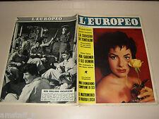 EUROPEO=1957/8=MARA LANE=AVA GARDNER DI ORIANA FALLACI=MABY CASADEI=MANNEQUINS=