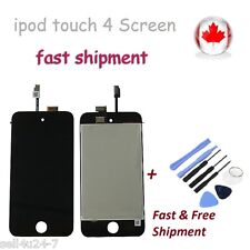 BLACK Replacement LCD Touch Screen Digitizer Assembly for iPod Touch 4 4th Gen
