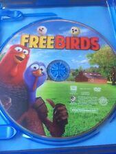 Free Birds (DVD, 2014) Owen Wilson Woody Harrelson Packed in a BR Case