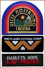 USCSS Nostromo Weyland Yutani Corp Hadley's Hope 3 Patch Alien Movie Collector S