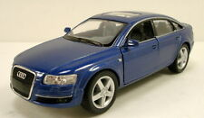 "Kinsmart Audi A6 Sports Sedan 1:38 scale 5"" diecast model car New Blue K03"