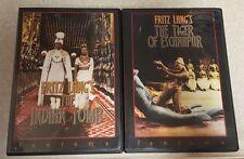 Fritz lang's Indian Epic (DVD, 2-Disc Set) RARE OOP! Fantoma. Region 1! w Insert