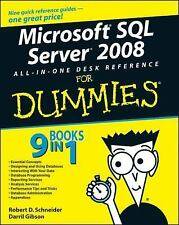 Microsoft SQL Server 2008 All-in-One Desk Reference For Dummies, Gibson, Darril,