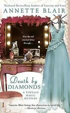Death by Diamonds - Annette Blair (Vintage Magic Mystery) Paperback  FREE SHIP