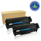 2 Q2612A Black Toner Cartridge For HP 12A LaserJet 1015 3020 3030 3050 3052 3055