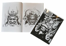 Tattoo Flash Book Art A4 -  100 Japanese Designs by Horimouja (Part 2)