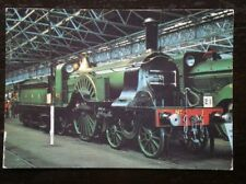 POSTCARD PATRICK STIRLING INTRODUCED THIS LOCO FOR GREAT NORTHERN RAILWAY IN 187