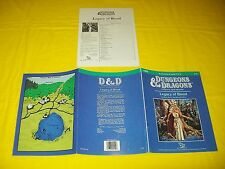 CM9 LEGACY OF BLOOD DUNGEONS & DRAGONS TSR 9210 6 MODULE COMPANION ADVENTURE