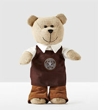 2016 STARBUCKS LIMITED EDITION TEDDY BEAR BEARISTA with Brown Apron