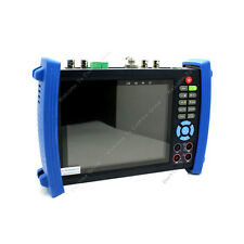 """7"""" CCTV Camera Monitor Tester Multimeter+HD SDI In/Out Test +Optical Power Meter"""