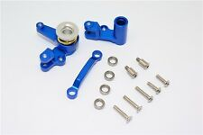 Traxxas XO-1 Supercar Upgrade Parts Alu Steering Assembly With Bearings - Blue