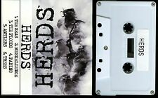 Herds self titled 2008 Demo USA Cassette Tape punk crust hardcore DIY