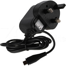 CHARGER FOR BLACKBERRY Q5 / Q10 / Q20 PHONE - UK MAINS PLUG MICRO USB COMPATIBLE