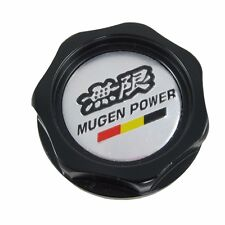 Black Engine Oil Filler Cap Tank Cover Mugen Aluminum for Honda Acura Civic