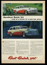 1956 Buick Special Estate station wagon vintage print ad