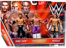 Mattel WWE - Exclusive NXT 3-Pack Figures (Neville, Sami Zayn, Tyler Breeze)