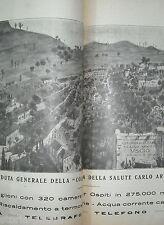 LIGURIA_GENOVA_USCIO_MEDICINA_IGIENE_SALUTE_COLONIA ARNALDI_CUCINA_TERAPIE_1925