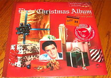 ELVIS PRESLEY CHRISTMAS ALBUM GREEN COLORED VINYL LP SEALED WITH HYPE STICKER !