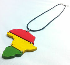RASTA Africa Necklace One Love Colors Irie Reggae Marley Jamaica African Chain