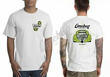 Limebug VW Official Serpentine Pulley T-Shirt Mens White X-Large Beetle T1 T2 T3