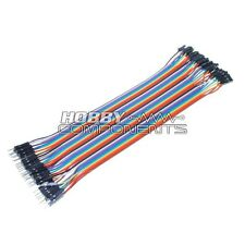 Arduino MALE TO FEMALE Solderless dupont Jumper Breadboard Wires 40-Cable Pack
