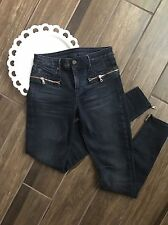 RtA Road To Awe Skinny Denim Women's Jeans Dark Wash Size 25