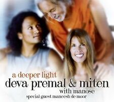 Deeper Light - Deva & Miten With Manose Premal (2013, CD NEU) Digipak