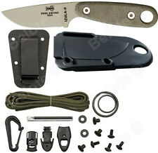 ESEE Izula II Desert Tan, Micarta Handles With Complete Kit, IZULA-II-DT-KIT NEW