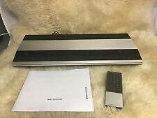 B&O Bang & Olufsen Beomaster 3000 Receiver w/Remote 60 Day Warranty Vintage 80's