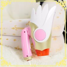 Anime Card Captor Sakura Hairdryer Sealing Wand Portable Hair Blow Dryer