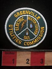 Vtg Greenville Utilities Commission NORTH CAROLINA Patch Water Gas Sewer C71J