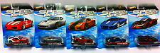 5x Hot Wheels Speed Machines *Ferrari  / MCLaren / Lamborghini* NEU / OVP