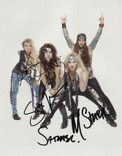 Steel Panther (Band) Fully Signed 8 x 10 Photo Genuine In Person