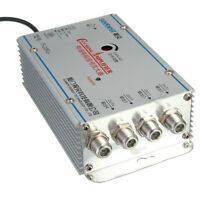 4 Way CATV Cable TV VCR Video Aerial Signal Amplifier AMP Booster Splitter