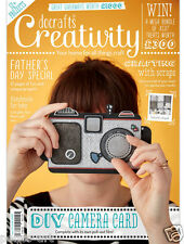Docrafts creatividad revista May 2016 nº 70 + gratis set de estampado & Gorjuss