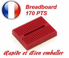 Breadboard 170 pts Couleur Rouge